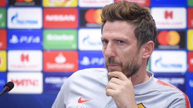 """Di Francesco: """"Guai ad accontentarci, magari metterò ai ragazzi la musichetta della Champions"""""""