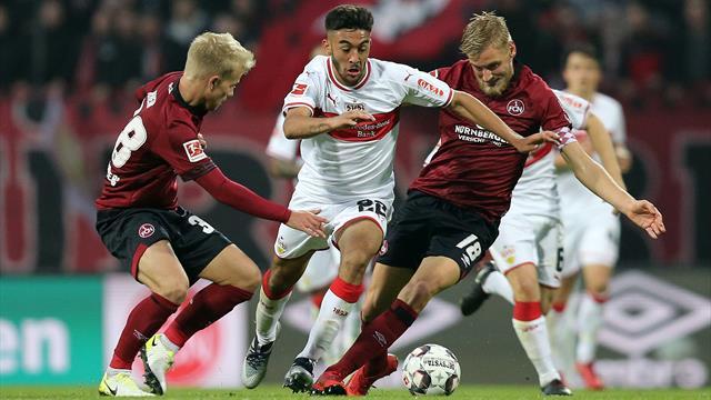 Sieg beim Club: VfB gelingt der Befreiungsschlag