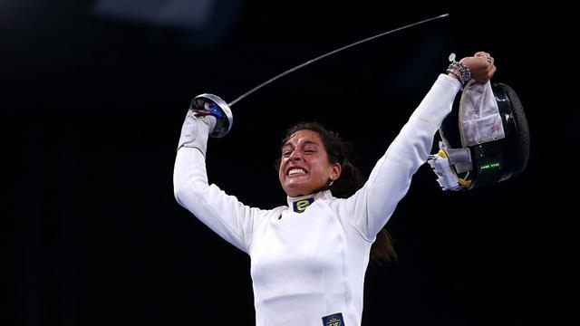 Alberta Santuccio sul podio in Coppa del Mondo, clamorosa eliminazione per Mara Navarria