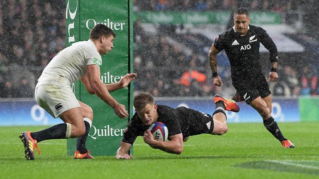 All Blacks corsari a Twickenham: Inghilterra battuta per 16-15, vincono anche Scozia e Galles