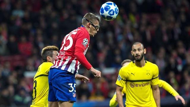 Costa, Arias y Montero, en once atlético; Raúl Garcia, suplente en el Athletic