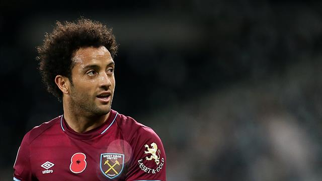 Felipe Anderson rescues West Ham point at Huddersfield