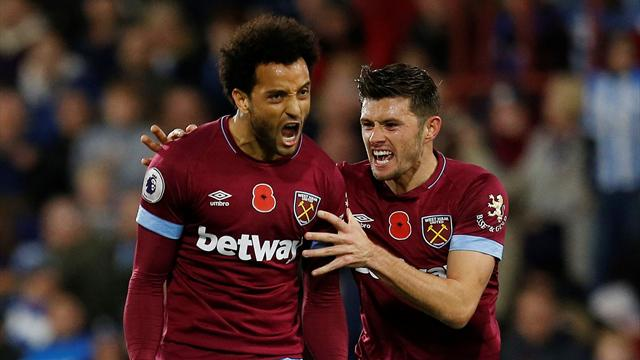 Huddersfield and West Ham battle to lively 1-1 draw