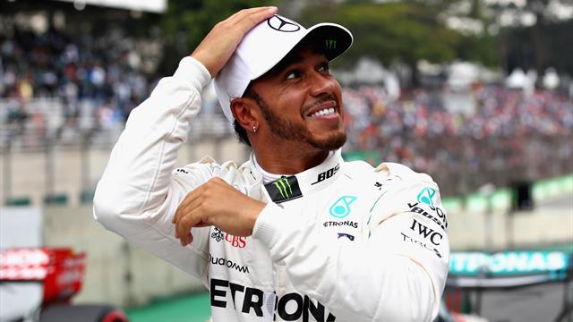 Hamilton on pole in Brazil, Vettel summoned to stewards