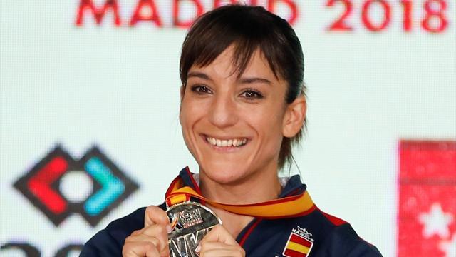 Sandra Sánchez se consagra en Madrid como campeona del mundo de kata en el mundial de kárate
