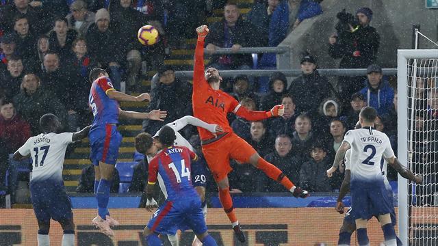 Tottenham domine Crystal Palace (0-1) et revient à hauteur de Chelsea et Liverpool