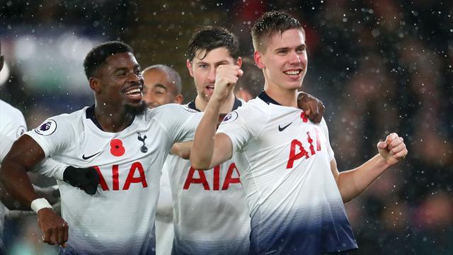 Foyth al 66': il Tottenham batte 1-0 il Crystal Palace e aggancia Chelsea e Liverpool