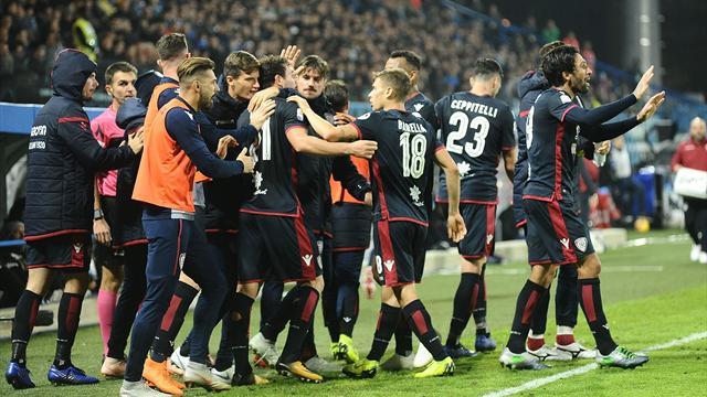 La SPAL s'illude, ma il Cagliari acciuffa il pari in 3 minuti: 2-2 al Mazza