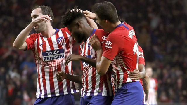 ⚽ ⚽  Godín firma una extenuante remontada del Atleti (3-2) y mete en problemas al Athletic