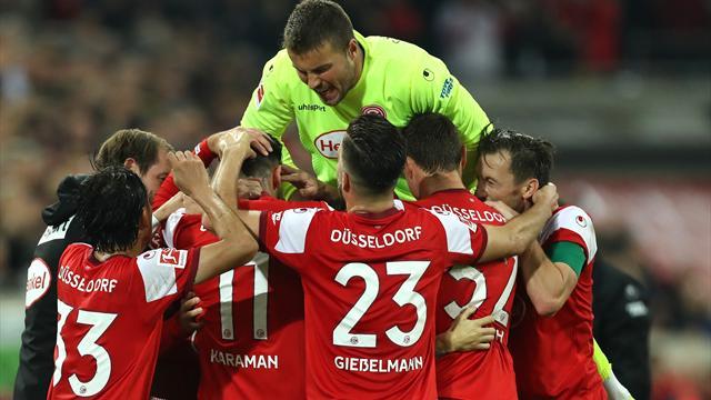 Düsseldorf feiert ausgelassen: Und jetzt die Bayern
