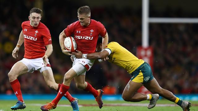 Biggar kicks late penalty as Wales end 10-year losing streak against Australia