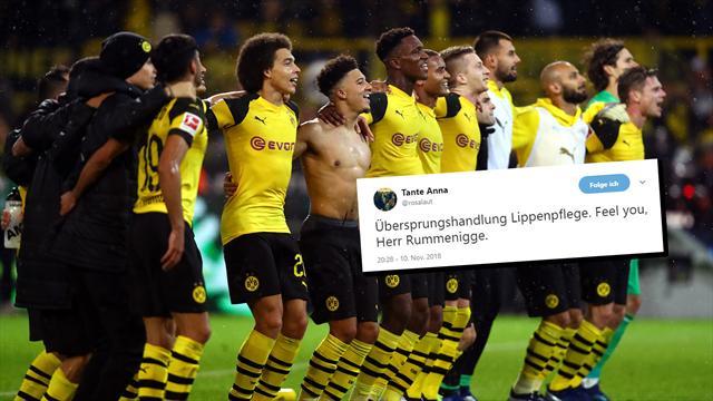 """""""Übersprungshandlung Lippenpflege"""": Die Netzreaktionen zu Dortmund gegen Bayern"""