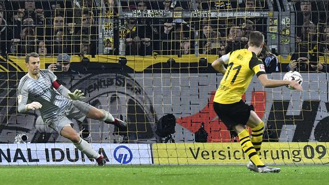 Borussia Dortmund hold on for thrilling win in Der Klassiker