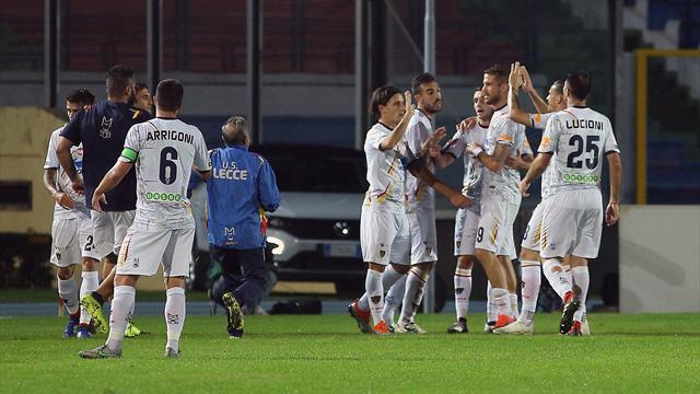Ancora ko il Livorno, vittoria all'ultimo del Lecce in casa del Cosenza
