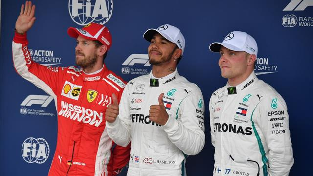 Formel 1: Hamilton holt Brasilien-Pole - Vettel Zweiter