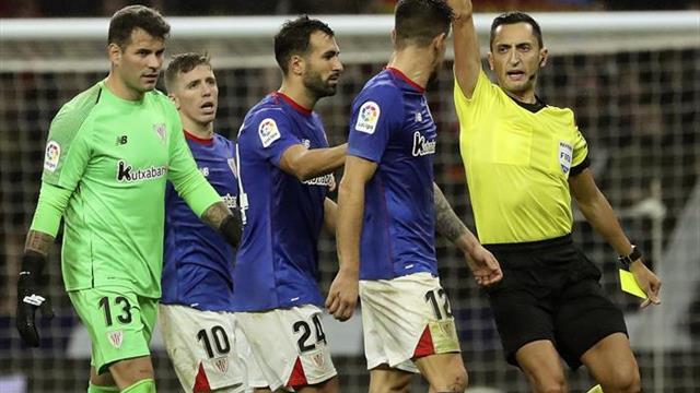 El acta recoge una expulsión a Yuri Berchiche tras finalizar el partido