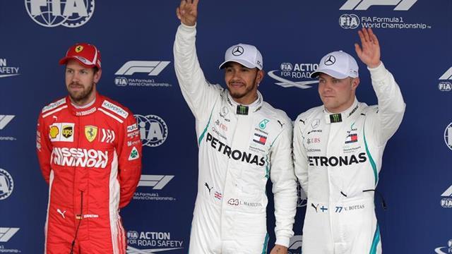 Hamilton se recrea en Interlagos y Mercedes apunta al quinto Mundial seguido
