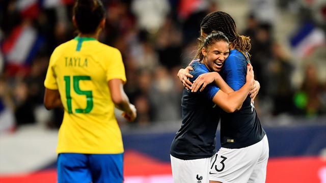 Fin d'année en fanfare : les Bleues ont marché sur le Brésil