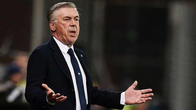"""Ancelotti: """"Napoli è il posto giusto per restare a lungo. Scudetto? Juve non è inarrivabile"""""""