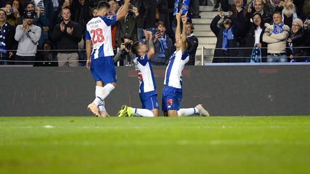 1-0. El Oporto es más líder tras vencer al Braga