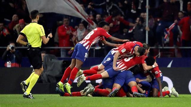 El gol del cojo sostiene al Atlético; el Valencia resucita en Getafe