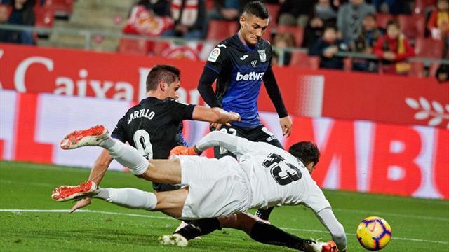 0-0. Frío empate entre el Girona y el Leganés en Montilivi