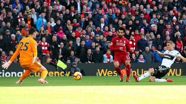 Premier League, bastano Salah e Shaqiri: 2-0 Liverpool al Fulham