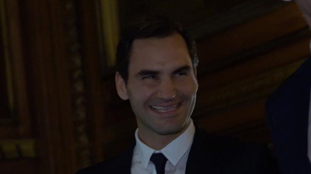 Federer: We should've organised a bus for the big boys, not the Tube!