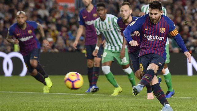 Betis-Barcelona: El golpe definitivo (21:00)