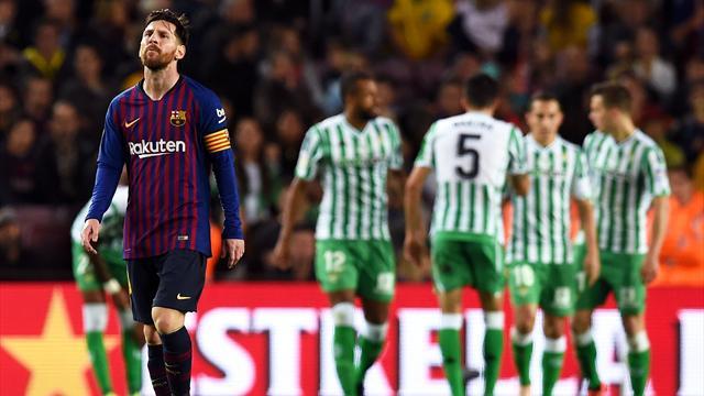 Clamoroso al Camp Nou: il Betis Siviglia batte 3-4 il Barcellona!