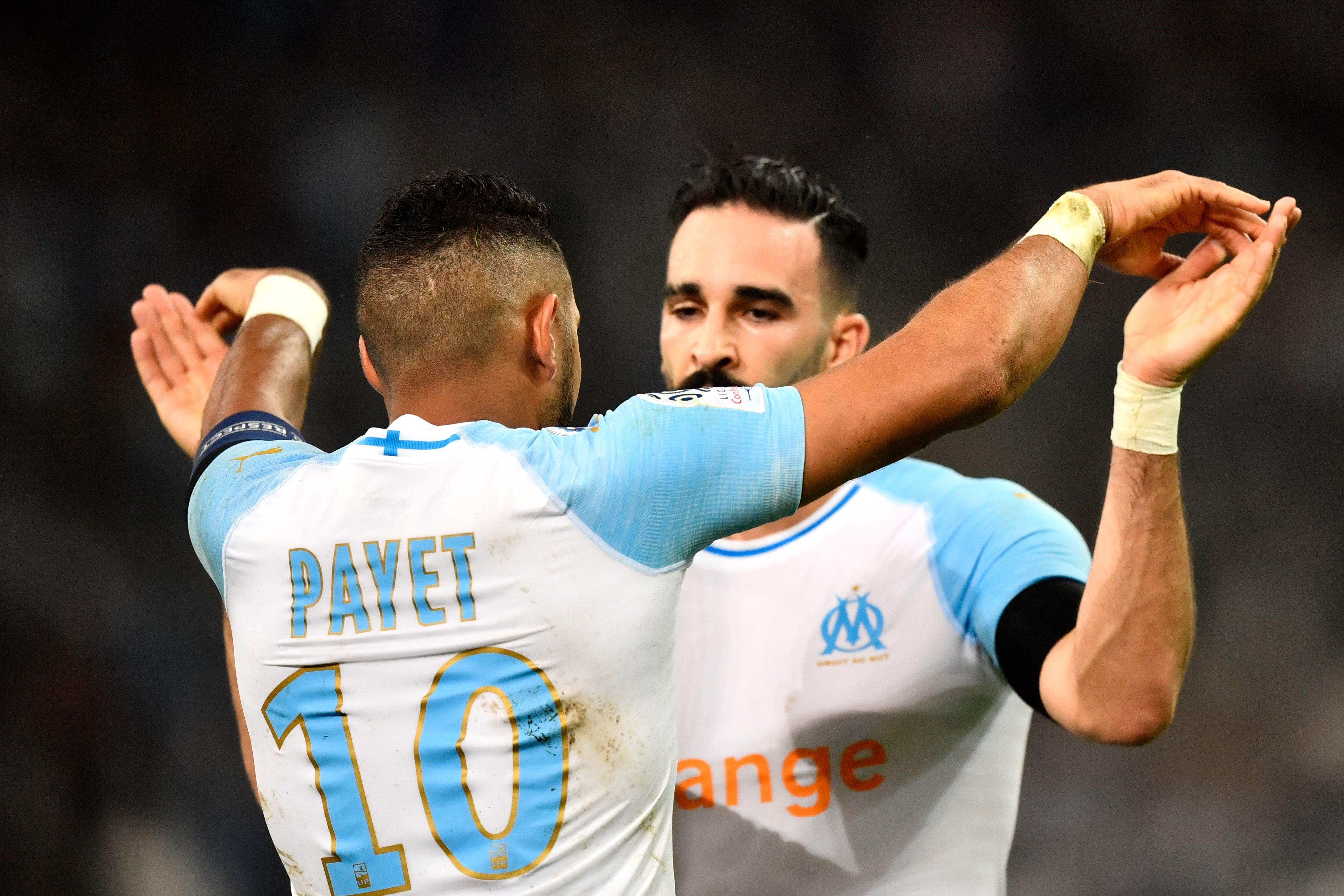 Dimitri Payet, Adil Rami (Olympique de Marseille)