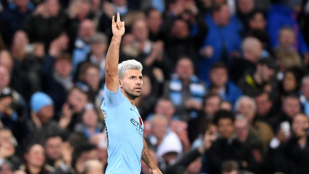 Football news -  I m not sure it s possible to hit a ball harder!  - Fans  react to Aguero rocket.   255a6f14b