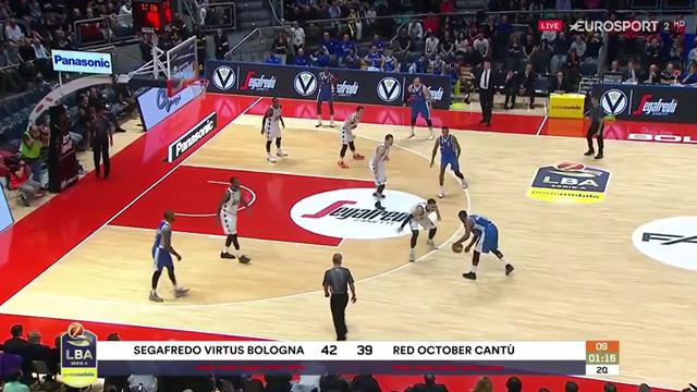 Highlights: Virtus Segafredo Bologna-Red October Cantù 90-81