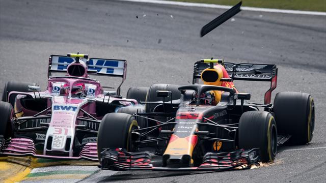 Accrochage, doigt d'honneur et bousculade : ça a chauffé entre Verstappen et Ocon
