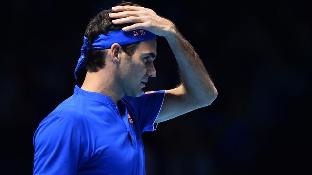 Federer hors sujet et déjà dos au mur