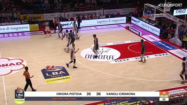 Highlights: Oriora Pistoia-Vanoli Cremona 73-90