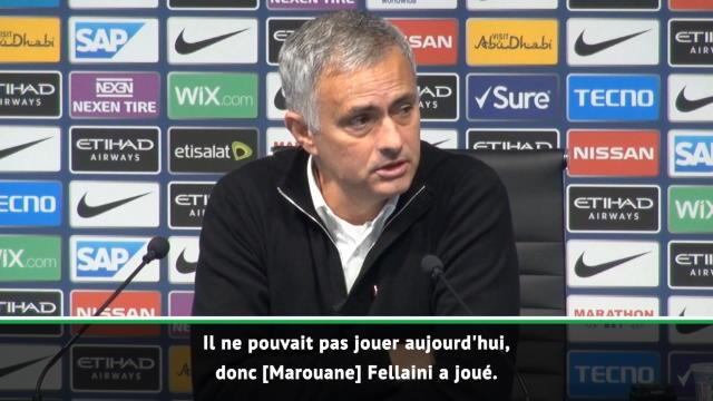 "Mourinho : ''Pogba nous a manqué"""