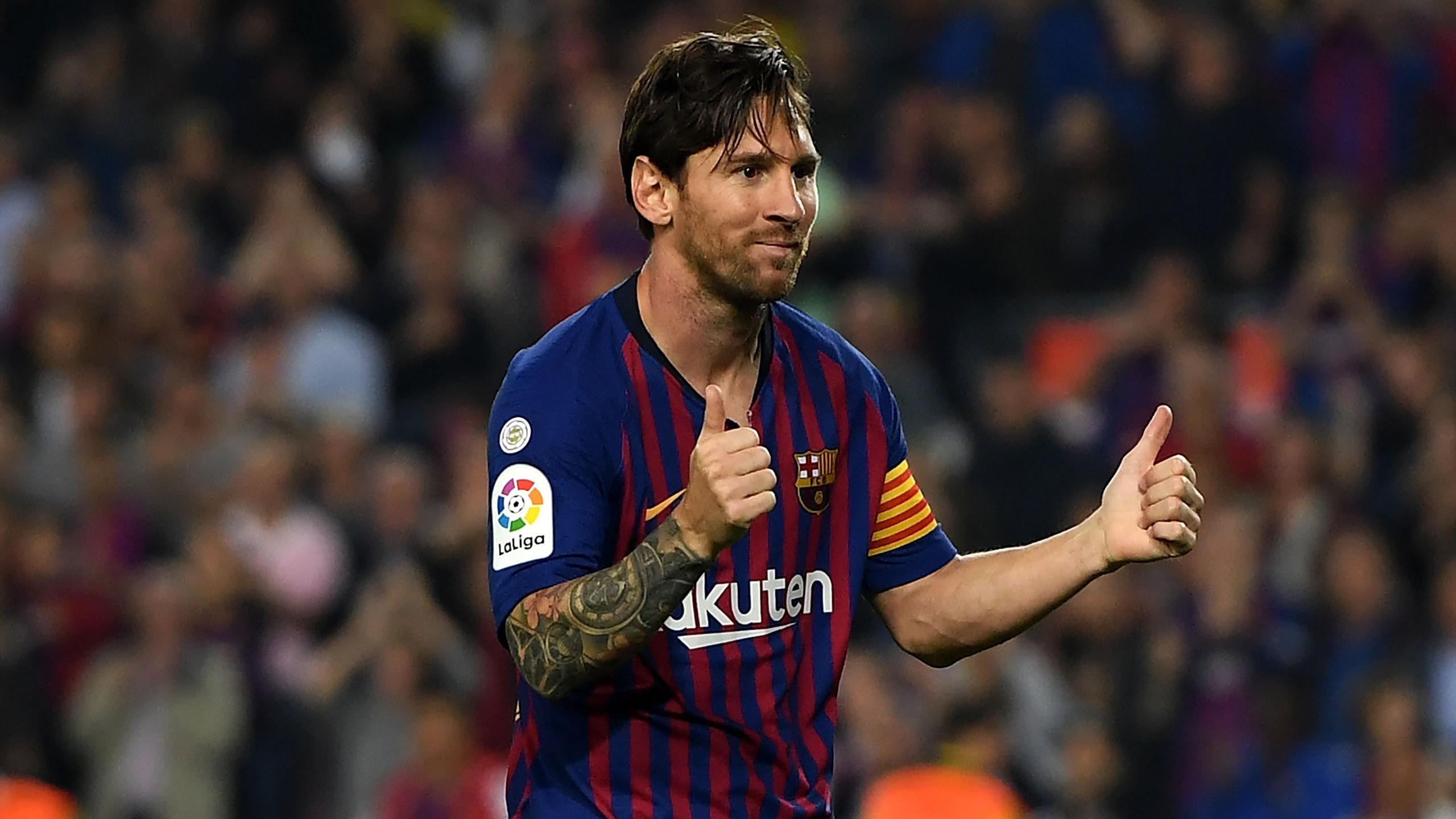 Le Barça et Messi donnent une leçon à l'Espanyol (0-4)