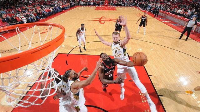Harden a sorti sa cape de MVP pour relancer Houston