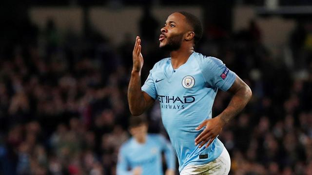 Sterling leads the line for City, Hazard up top for Chelsea