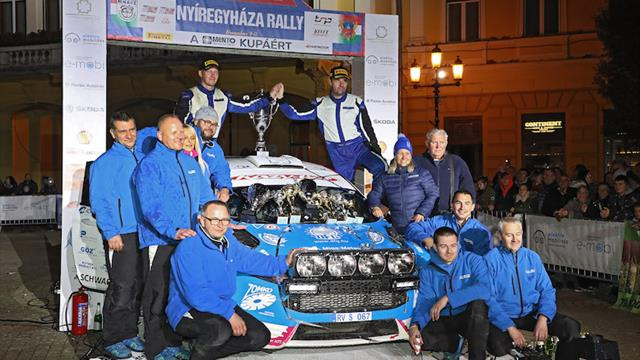 Thrilling finale: Hadik wins new ERC rally, takes title*