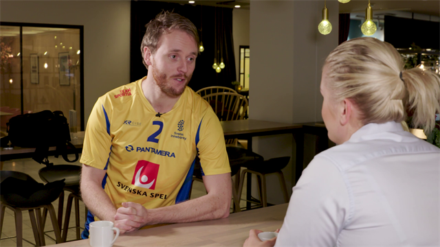 """Johan Samuelsson: """"Fantastiskt skönt att få inleda mot Finland"""""""