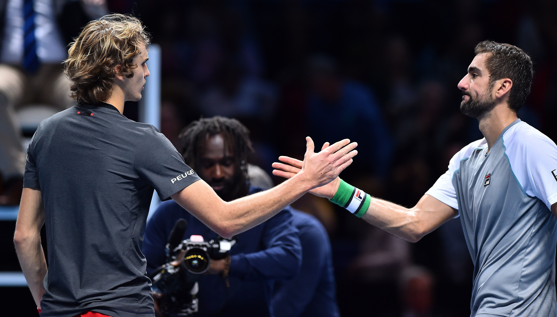 Alexander Zverev et Marin Cilic - Masters 2018