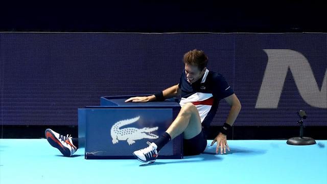 France-Croatie est lancé : Mahut rassure après sa chute, son adversaire doute de sa blessure