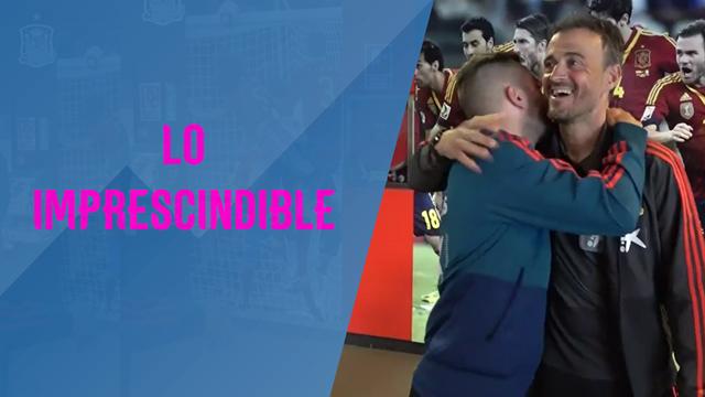 Luis Enrique y Jordi Alba, Solari, Lydia Valentín, Verstappen y lo imprescindible del día