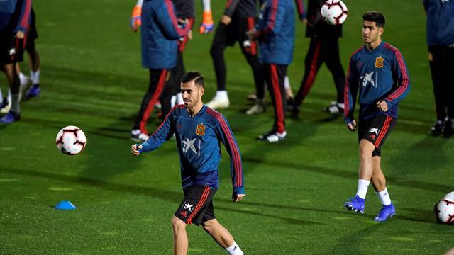 La Selección empieza a trabajar con Jordi Alba y siete Sub-21