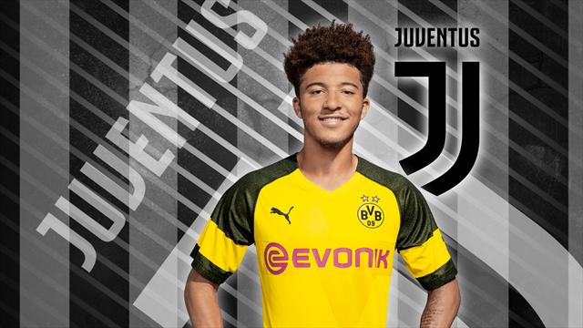 Euro Papers: Juventus make €80m move for Jadon Sancho