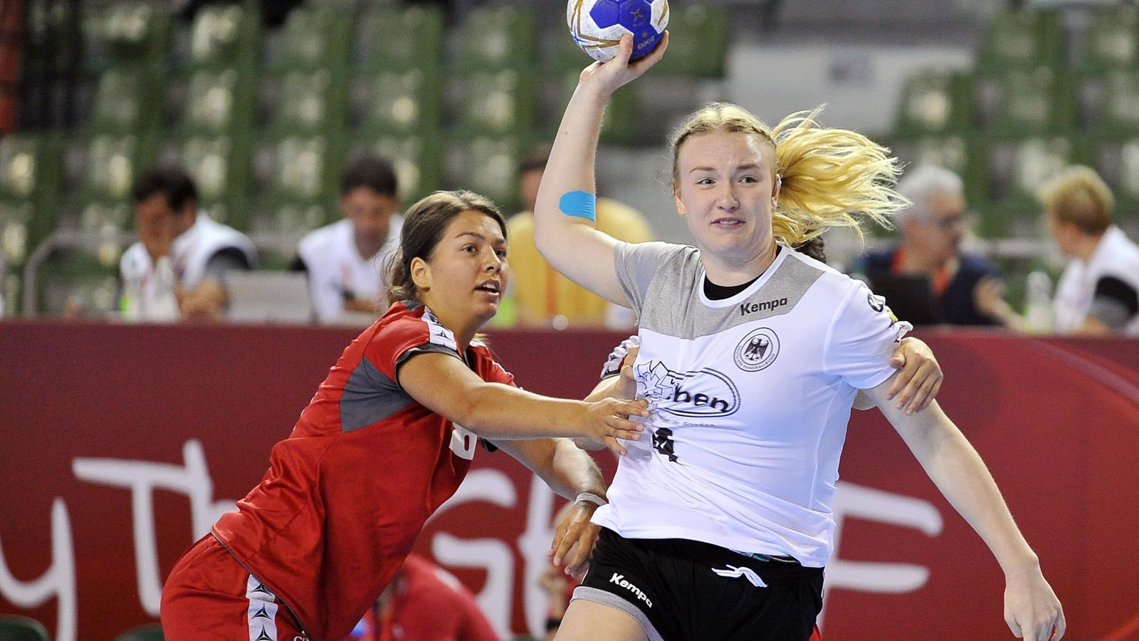 handball: handball em der frauen auf