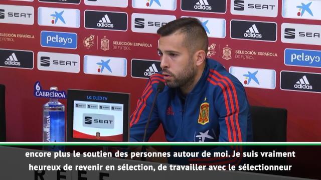 """Espagne - Alba : """"Heureux de revenir en sélection"""""""