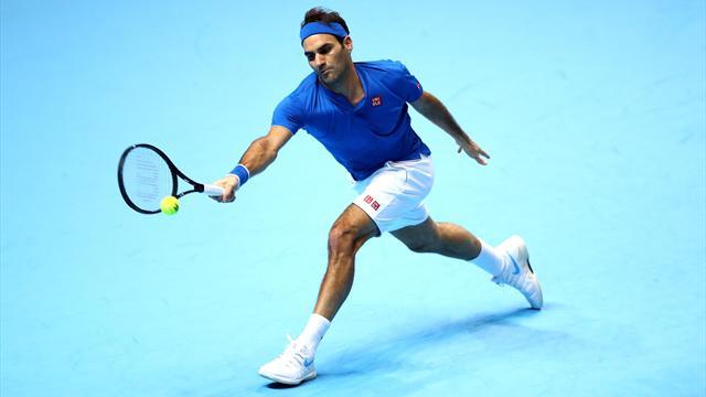 Bien aidé par Thiem, Federer a rempli sa mission
